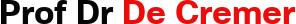 David De Cremer Logo